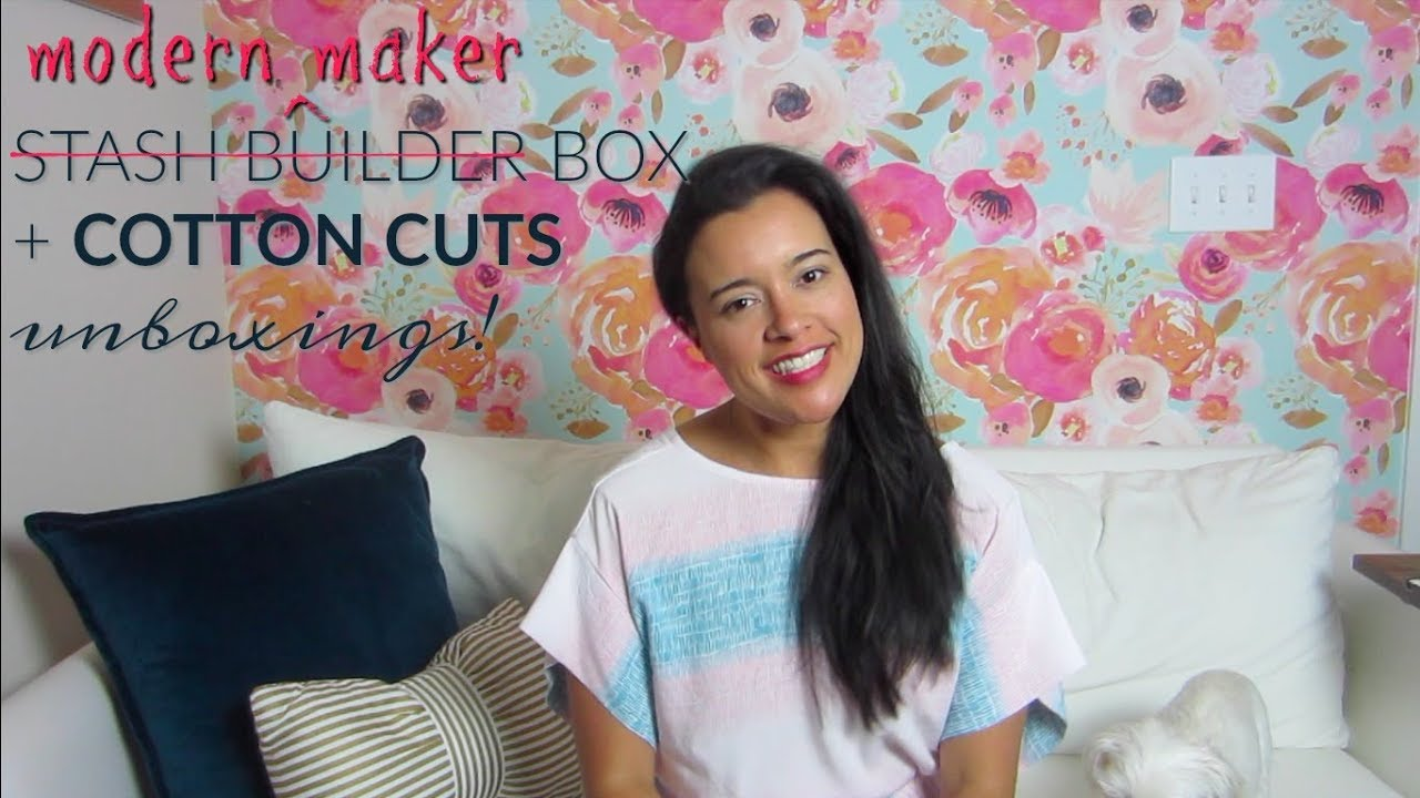 Inside the Hem fabric review of the Modern Maker Box and Cotton Cuts subscription