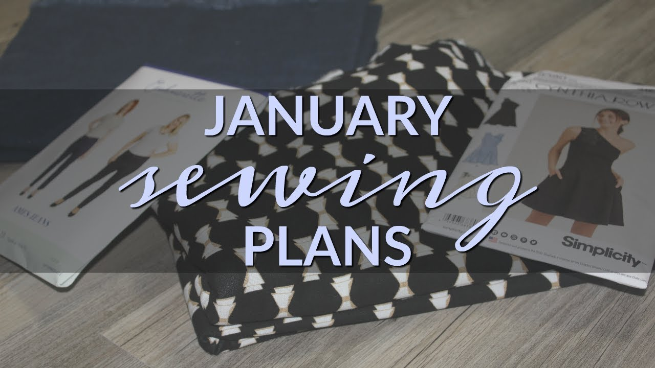 Sewing plans for January by Lindsey of Inside The Hem